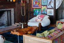 Boho Chic Interior Inspiration / Collection of Boho Chic Style Ideas for Interior