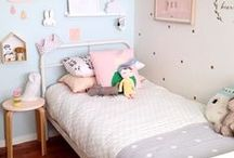 Nursery Room Decor / Collection of inspiring decoration for a nice and cute nursery / children's room.