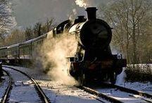 Voyager en train / Une collection des plus beaux voyages en train à travers le monde !