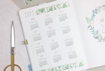 Planner Goals / Bullet Journal spreads and ideas to keep you organized and ready to take on the day!