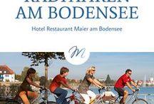 Radfahren am Bodensee / Rauf aufs' Rad und den Bodensee auf zwei Rädern erkunden. Die besten Inspirationen für eine Radtour am Bodensee gibt es hier!