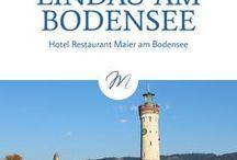 Lindau am Bodensee / Die malerische Inselstadt Lindau ist ein sehr beliebtes Ausflugsziel für Urlauber am Bodensee. Mediterranes Flair und historische Sehenswürdigkeiten machen Lindau einzigartig.