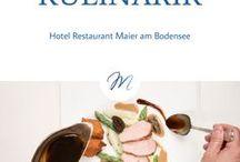 Kulinarik / Auf der Suche nach einem guten Ort für ein Frühstück, einem Snack oder einem guten Glas Wein? Hier gibt es die kulinarischen Highlights am Bodensee.
