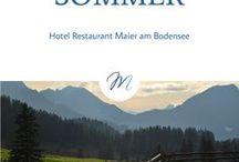 Sommer / Sommerzeit ist Urlaubszeit! In der warmen Jahreszeit findet das Leben draußen statt. Sonne Tanken am Bodensee.