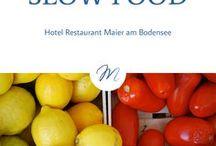 Slow Food / Wissen, wo es herkommt! Aus der Region, jenseits von Massentierhaltung und Fabrikproduktion. Das ist Slow Food. Der Tipp für den Urlaub am Bodensee.