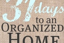 Home - organizing stuff / by Joanne Woolf