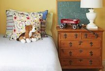 Home: Boys' Room / Ideas and inspiration for decorating the boys' rooms.