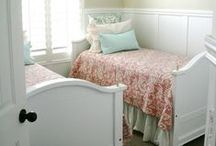 Home: Girls' Room / Ideas and inspiration for decorating the girls' bedroom.