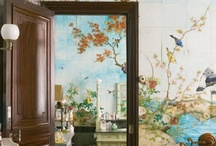 Painted Walls and Tiles / by Shelby Lavender