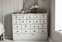 | Painted ~ Distressed ~ Chippy / Collection of beautiful painted, distressed and chippy furniture and other bits and bobs / by Haldis