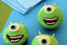 Monsters Inc. / Get back to school with your favorite Monsters! Sully and Mike inspired food, crafts, and advice!   Monsters Interested in Leadership and Knowledge (M.I.L.K)  / by Spoonful