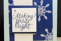 Christmas cards and paper crafts