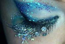 PARENN SIren 2014 makeup/hair / by Victoria Davis