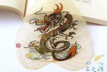 Leaf Bookmarks / by Nurit Zodrow