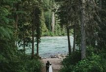 The Mountain / Beautifully rustic wedding design / by Lela Rose
