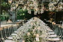 The Perfect Setting / Breath-taking table settings perfect for your big day. / by Lela Rose