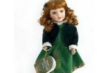 "Irish Gifts - Irish Porcelain Dolls / These beautiful Irish Heritage dolls are 12"" tall and features a range of traditional cosutmes of finely crafted hand-painted porcelain dolls. These beautiful dolls are wonderful gifts for girls and adults. Available while supplies last at Christian Expressions Rhode and online https://shopirishexpressions.com"