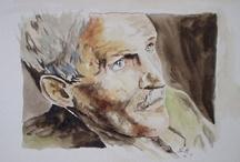 Aquarelle (Watercolor) / http://www.facebook.com/pages/Peintre-Aquarelliste-Gilles-Guillou/