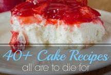Homemade Cake Ideas / Cake Recipes in all flavors and styles here. We aren't picky... except German Chocolate, I prefer my chocolate cake rich and uncluttered... but you can usually never go wrong with recipes for homemade cake