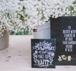 Wedding / Hochzeitsinspirationen