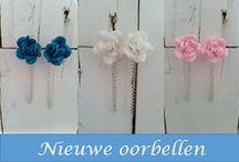 Oorbellen / Unieke handgemaakte oorbellen uit eigen atelier.