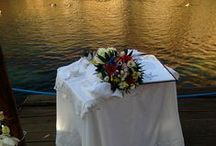 Jewish wedding in Greece / A #Jewish #wedding took place in #Athens #Greece into the #lake #Vouliagmeni