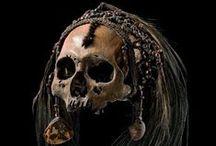 Trophy & Ancestor skulls