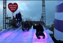 Ice slide  / Ice slide in Warsaw! www.bee44.com