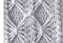 Crochet - Stiches, Patterns & Diagrams