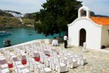 Wedding inspiration: Rhodes / Hold your wedding in beautiful #Rhodes and create memories to cherish forever! http://www.marryme.com.gr/