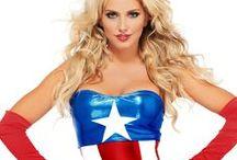 Captain America Sexy Costumes