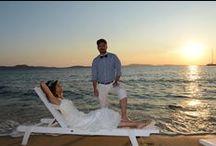 Mykonos Beach Wedding / Boho-style #wedding in cosmopolitan #Mykonos! http://goo.gl/jj9RG3
