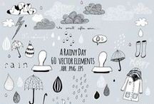 brushes/clipart/illustrations / photoshop brushes / digital stamps / clipart / patterns, also lot's of freebies!