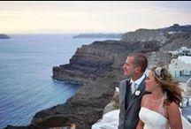 Santorini chapels and  Churches / Greek Orhtodox weddings