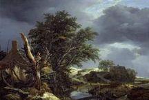 12 Landschapschilderkunst / Het landschap als zelfstandig genre in de westerse schilderkunst.