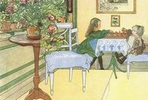 Carl Larsson / Wonderful Swedish painter. / by Pamela F.