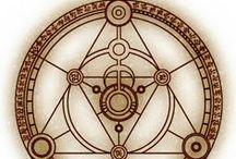 ▲sacred▒geometry▼ / Сакральная геометрия (от лат. sacralis — священный, обладающий святостью, признаваемый божественным) — совокупность религиозных и/или мифологических представлений о формах и пространстве мира, его гармонии, упорядоченности, пропорциональности, как геометрия форм, лежащих в основе жизни.