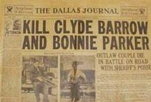 bonnie & clyde / couple de gangsters / by celine 19