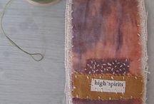 embroidery, mending, sashiko, stitching....
