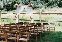 Real wedding: bohemian rustic