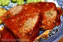 Meatloaf & Meatballs Recipes / by Rochelle Hyde