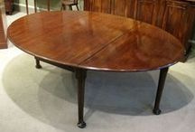 Dining & Breakfast Tables / Wilkinson Antiques UK provides fine stock of antique dining tables and antique breakfast tables like william iv dining table, antique mahogany dining table, regency Georgian breakfast table, antique extending dining table, antique centre farm table, antique drum tripod table in different shapes, sizes and design.