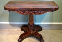 Tables Other / Wilkinson Antiques UK, BADA member supplies wide range of antique tables such as antique occasional tables, antique console tables, library tables, antique sewing pier tables, antique centre pembroke tables, side antique card tripod table, etc.