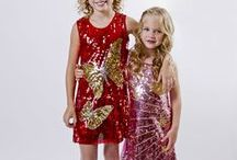 Holiday Dresses for Little Girls / Mia Belle Baby new fashions for fall/winter 2014 holiday dresses for toddlers and girls.