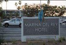 Marina del Rey Hotel / Found this hotel while walking around Marina del Rey to take some pictures