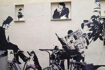 Street art / Street art around the world, collected en shot by fashion journalist Natasja Admiraal.