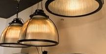 INDUSTRIAL & SHOP FURNITURE, LIGHTING / Various vintage and 20th century industrial furniture and lighting for your home, office or workspace that are or have been available on the Decorative Collective website