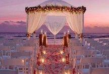 I Do: Beach Wedding Inspiration / Creative and unique beach wedding ideas