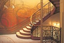 ღ˛° 。*  Stairs, Staircases & Stairways   *˚ .ღ / by •★Sandi Bing★•