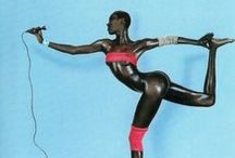 Grace Jones Style / Crazy and abstract style like Grace Jones